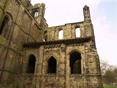Kirkstall Abbey Walls