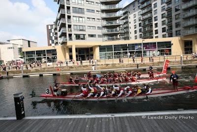 Dragon Boat Races Clarence Dock Leeds