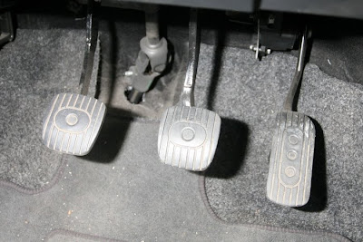 Car Pedals Nissan Note