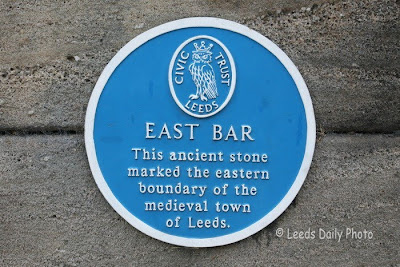 Blue Plaque East Bar Leeds