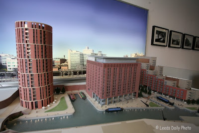 Granary Wharf Leeds Waterfront Model