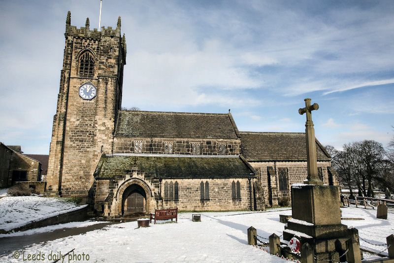 Saint Wilfrids church Calverley