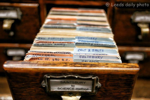 Leeds Library Card File