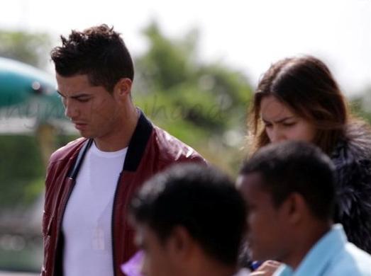 cristiano ronaldo girlfriend 2010 irina. Cristiano Ronaldo spends his