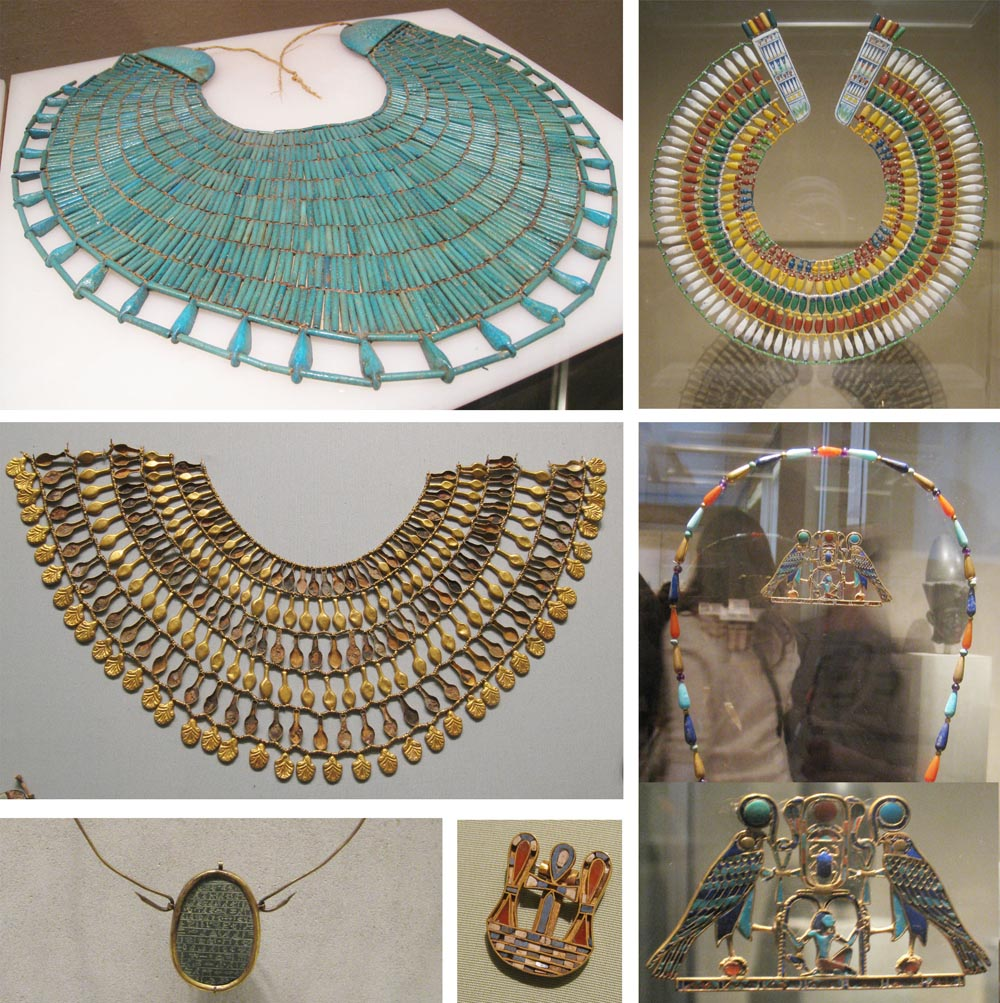 Gemagenta ancient egyptian jewelry at met museum for Egyptian jewelry