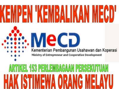 Selamatkan peniaga kecil Melayu ~ kembalikan KPU