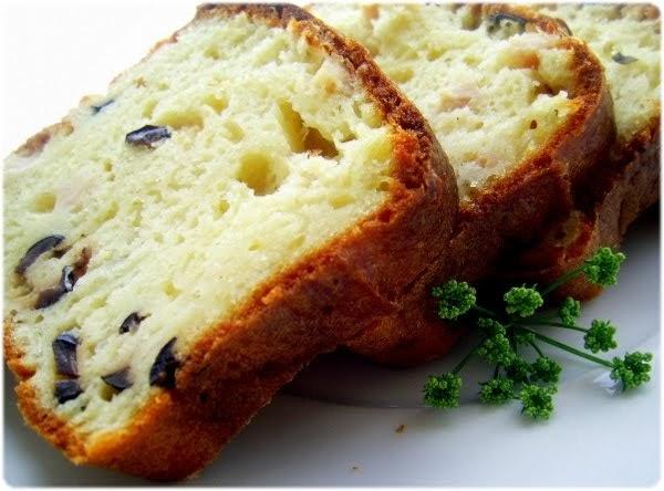 Cake Sal Ef Bf Bd Jambon Gruyere Olive