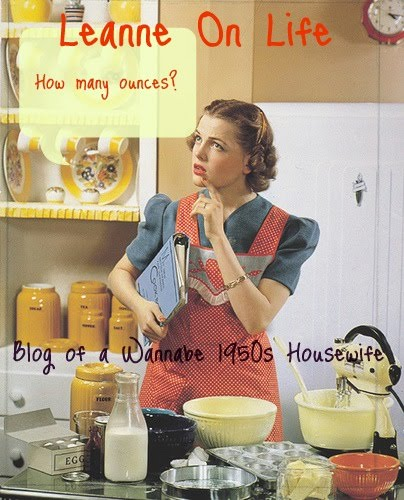 Blog of a wannabe 1950's housewife