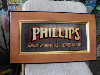 traditional signage dobell designs hand painted phillips brewery