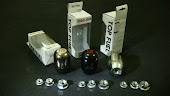 Zero Gear Knob Black Silver Titanium