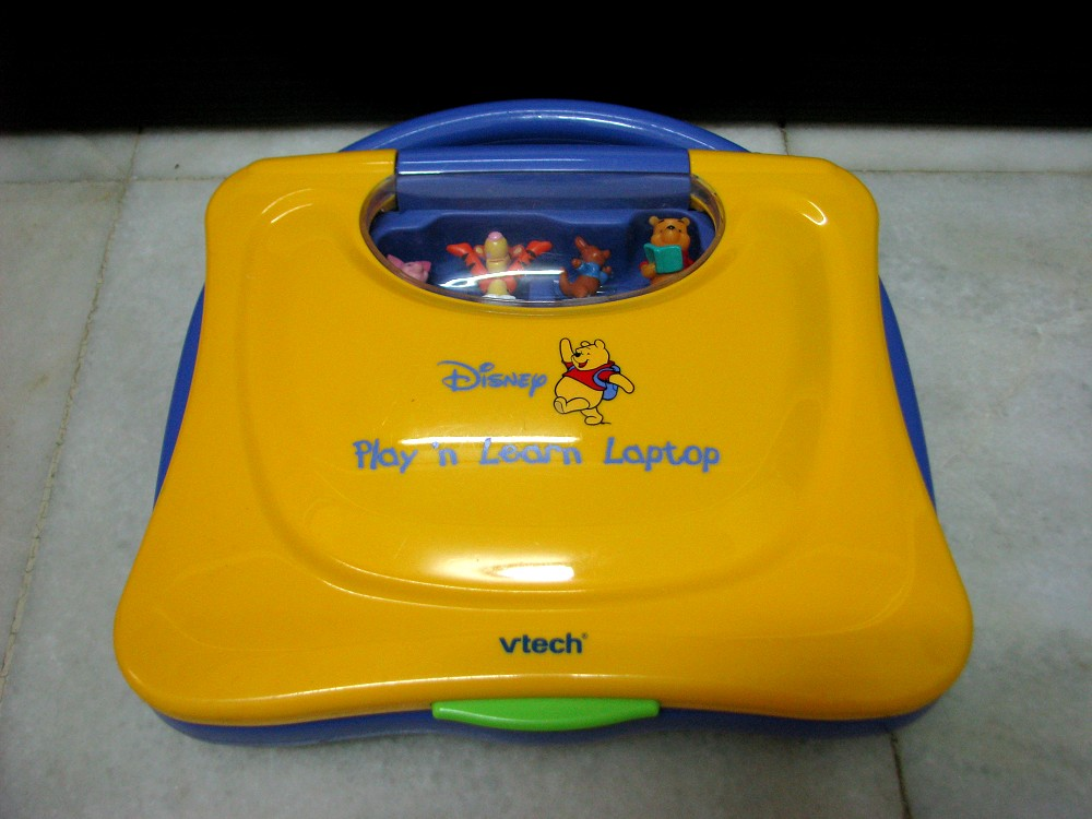 Vtech Winnie the Pooh Play and Learn Laptop - YouTube