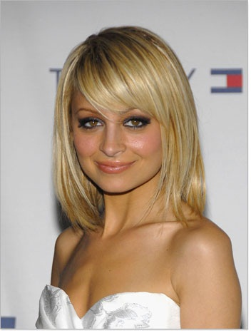 2011 Long hairstyles with bangs. Longer, soft edged bob cuts.
