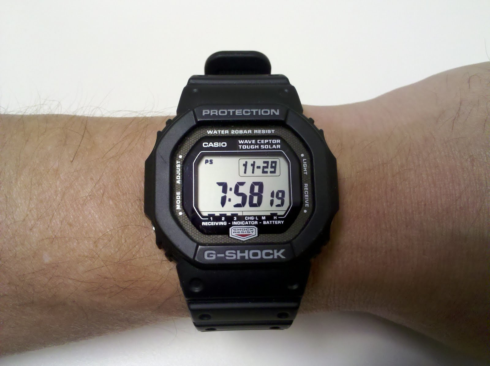 Casio G Shock GWM 5600 Solar Atomic