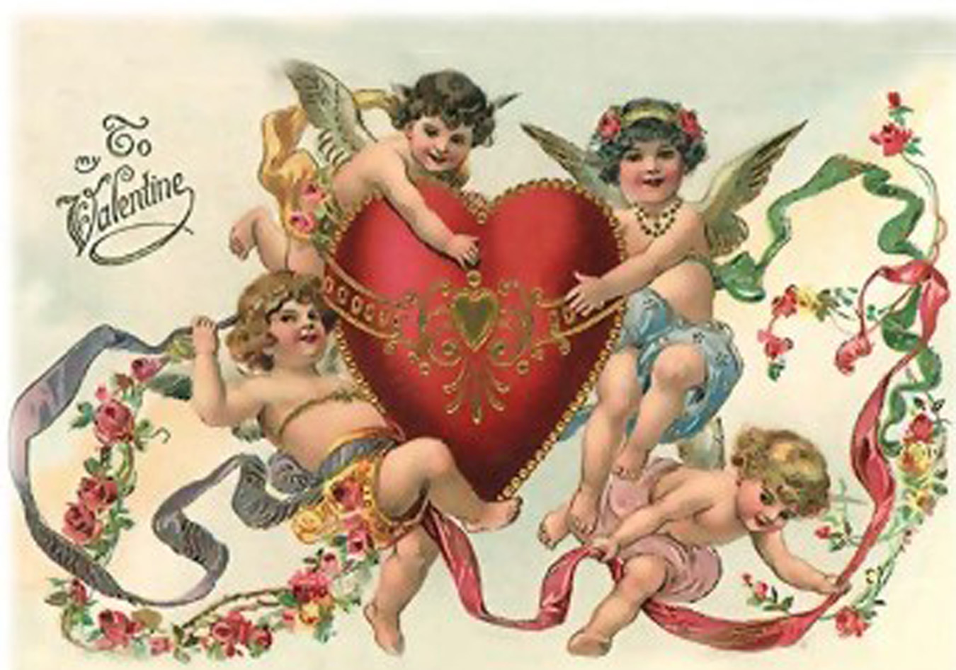 history of valentine's day poem