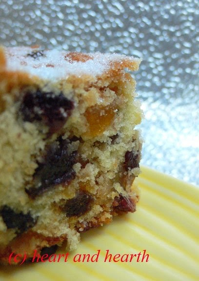 Heart and Hearth: Fruit Cake Bars