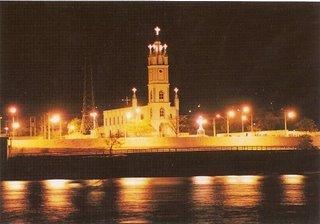 Vista Noturna da Igreja São José