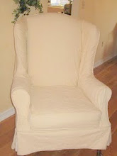 wingback slipcover