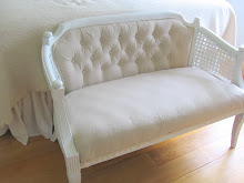 lazy girl's settee rehab