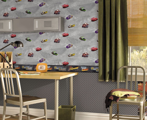 New to Wall Sticker Outlet today are ten Disney Cars themed wall papers and