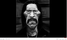 Danny Trejo SpeedPainting