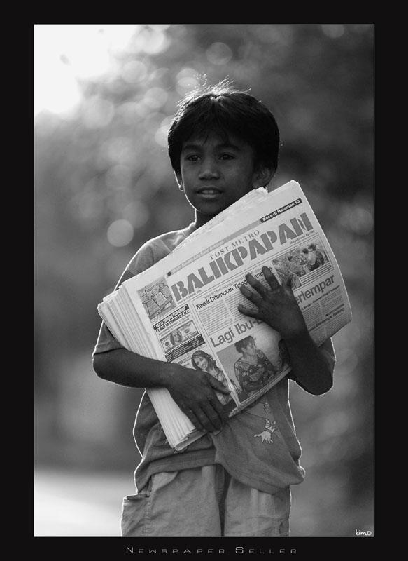 ... Robby - Cerita kali ini adalah Pesan Hidup Dari Bocah Penjual Koran
