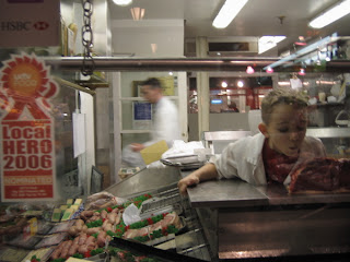 Niño carnicero en Oxford