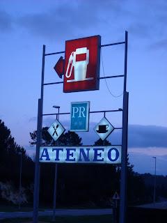 Estación de Servicio Ateneo, en O Reino, Piñor, Ourense
