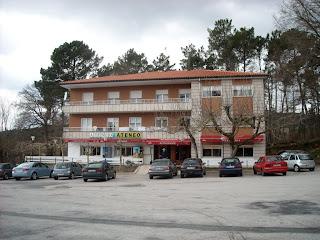 Restaurante Ateneo, en O Reino, Piñor, Ourense