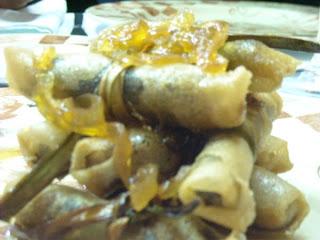 Crujiente de Morcilla - Restaurante Tamobrino - Ciudad Rodrigo