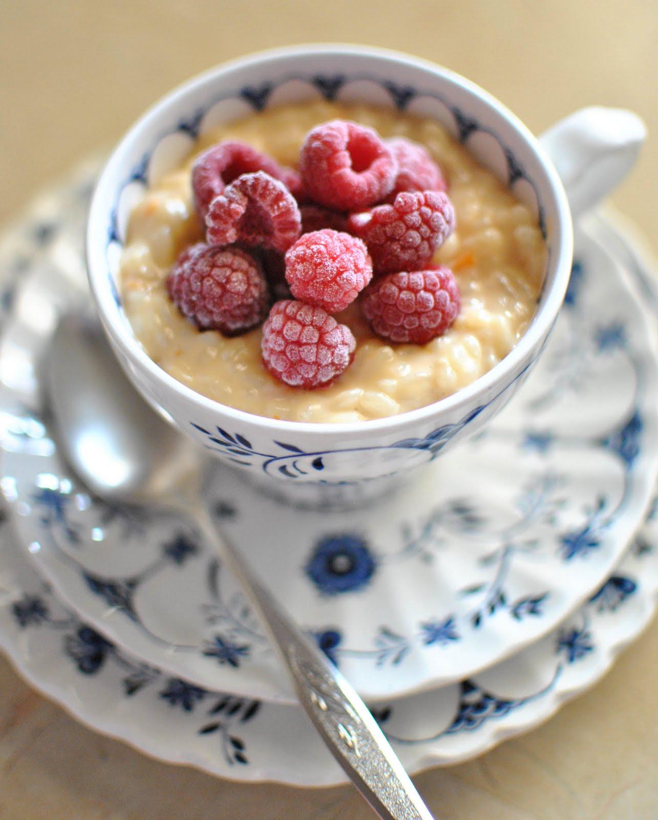 Scandi Home: Milk Rice Pudding