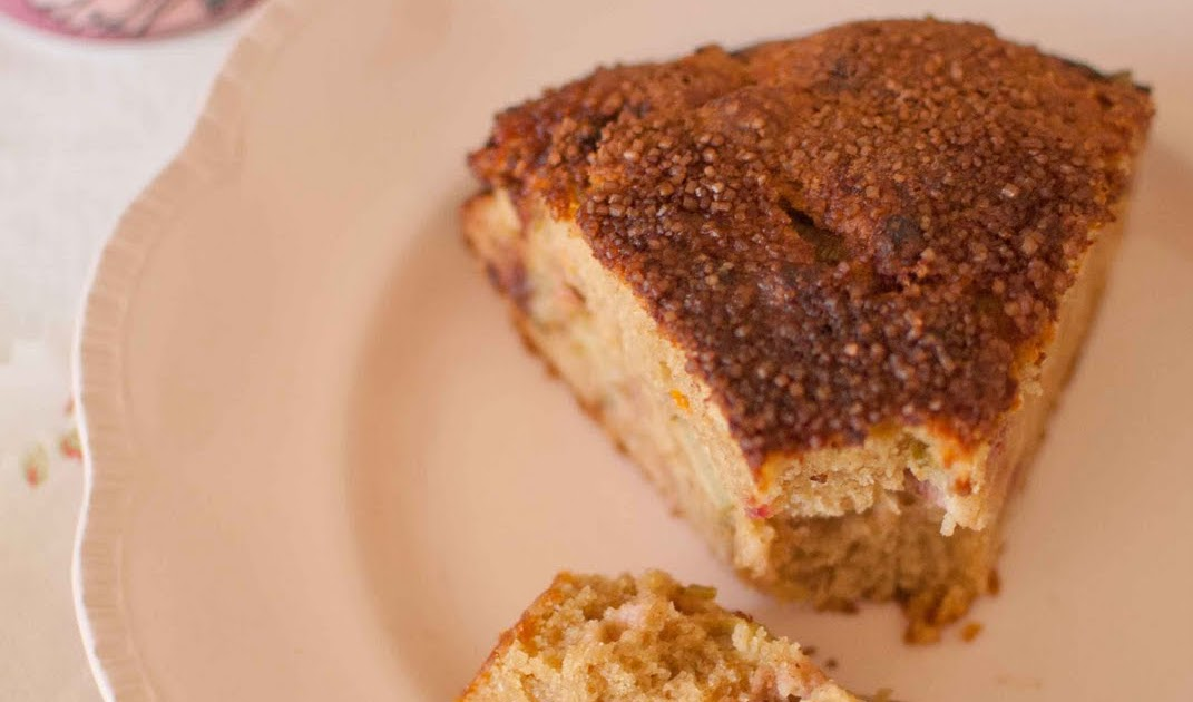 Cake Recipe With Ground Almonds And Rhubarb