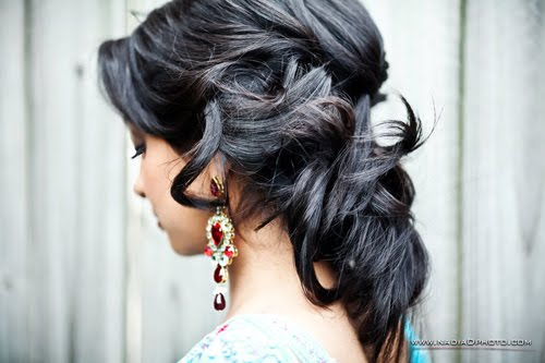 south indian bridal makeup. {Bridal Makeup amp; Hair