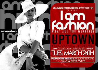 Fashion Stylists Atlanta on Tonight   March 24th For The Most Exclusive Fashion Mixer In Atlanta