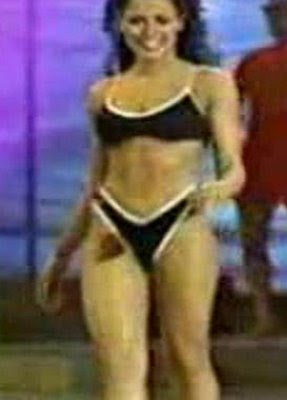 Robin Meade Swimsuit Competition Photos