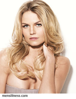 Jennifer Morrison (Mrs. Kirk) Men's Fitness magazine