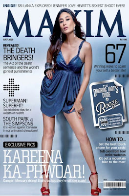 Kareena Kapoor Maxim Magazine (July 2009)
