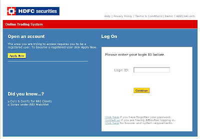 Hdfc forex card login online