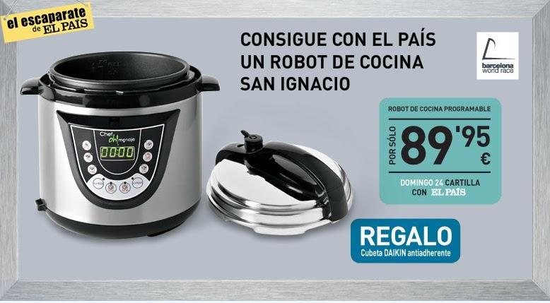 Promociones y colecciones prensa librer a papeler a for Robot de cocina botticelli