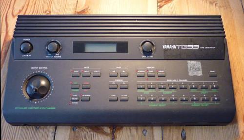 Yamaha Tg Tone Generator