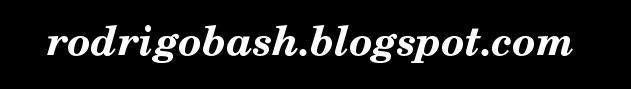 Rodrigo Bash Blogspot