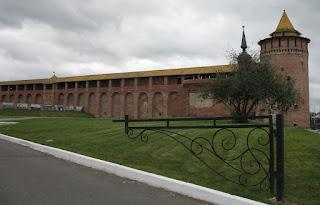 Коломна Кремлевская стена