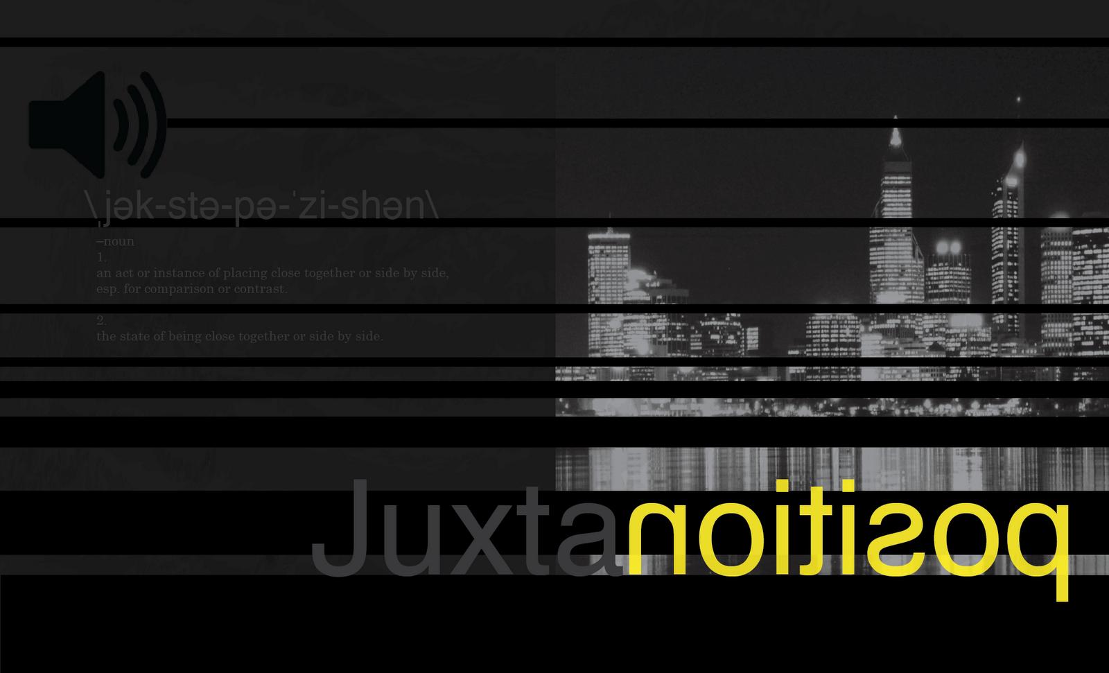 Zpirnot Typography Definition Juxtaposition