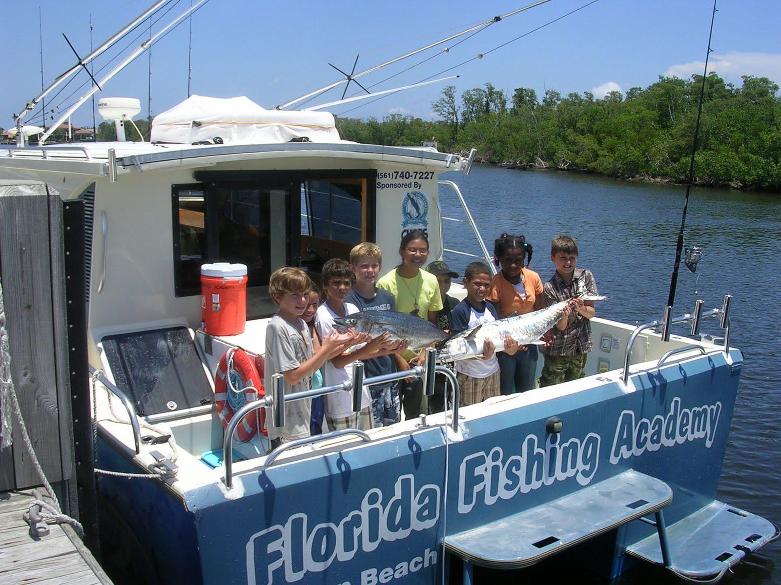 Florida fishing academy august 2010 for Boynton beach fishing