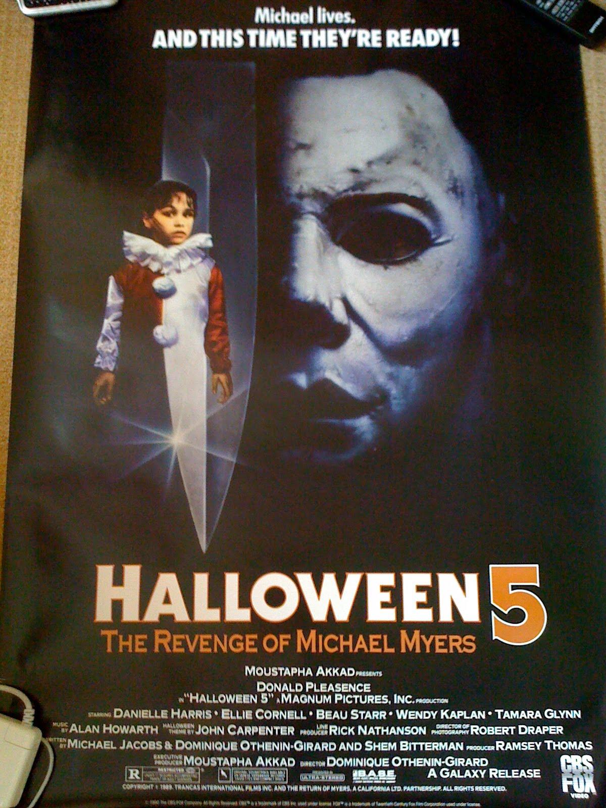 Image Gallery Halloween 5 Poster