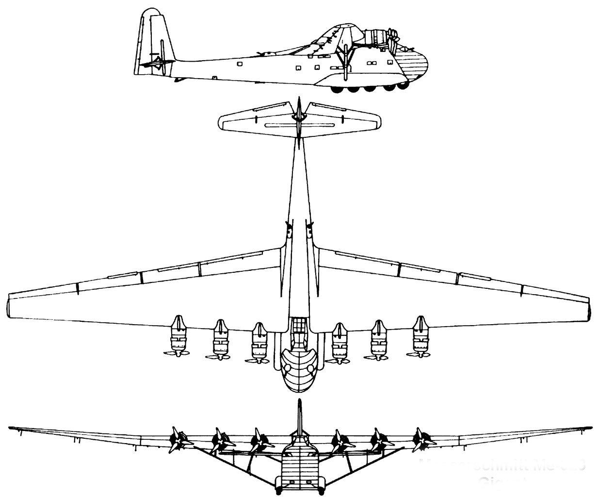 Messerschmitt me-323 gigant