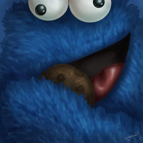trabajo por pam drago personaje el monstruos come galletas