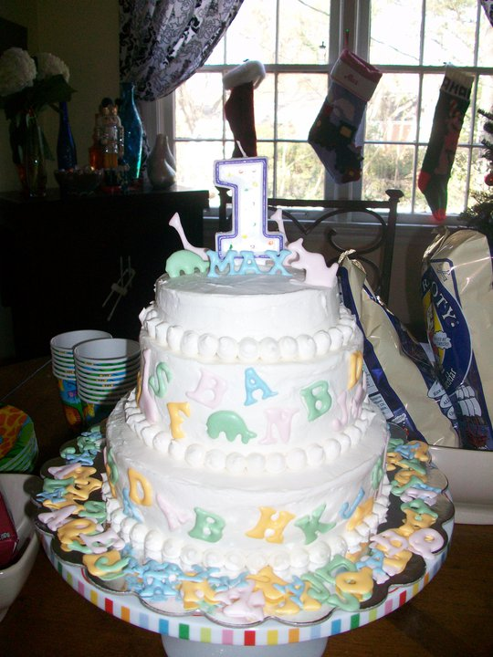 can do cakes 1st birthday. Black Bedroom Furniture Sets. Home Design Ideas