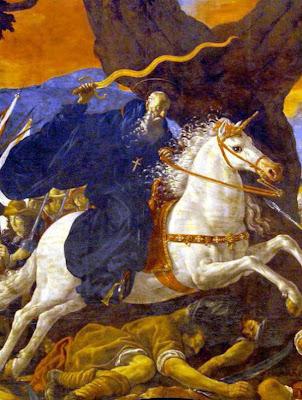 La leyenda de San Millán le incluyó, al igual que a Santiago, en varias batallas de la Reconquista