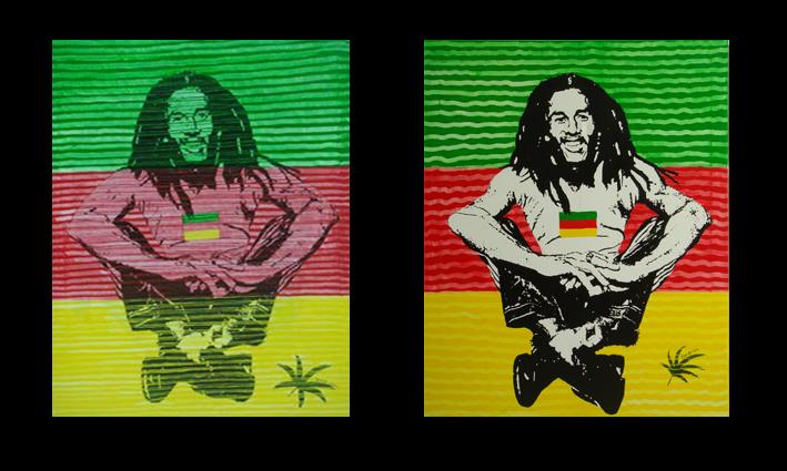 Name : Bob Marley No.1,2