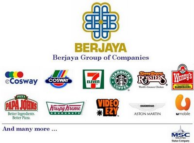 berjaya corporation berhad Berjaya corporation's diverse businesses are held through a number of listed  companies  is a distributor of mazda vehicles & spare parts based in malaysia.